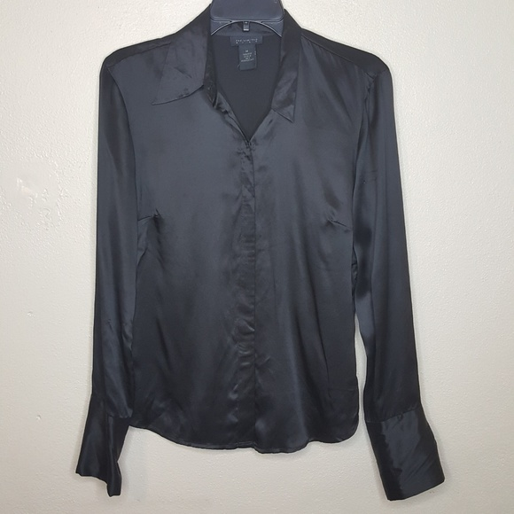 The Limited Tops - 4/$25 The Limited Silk Shirt Button Down K